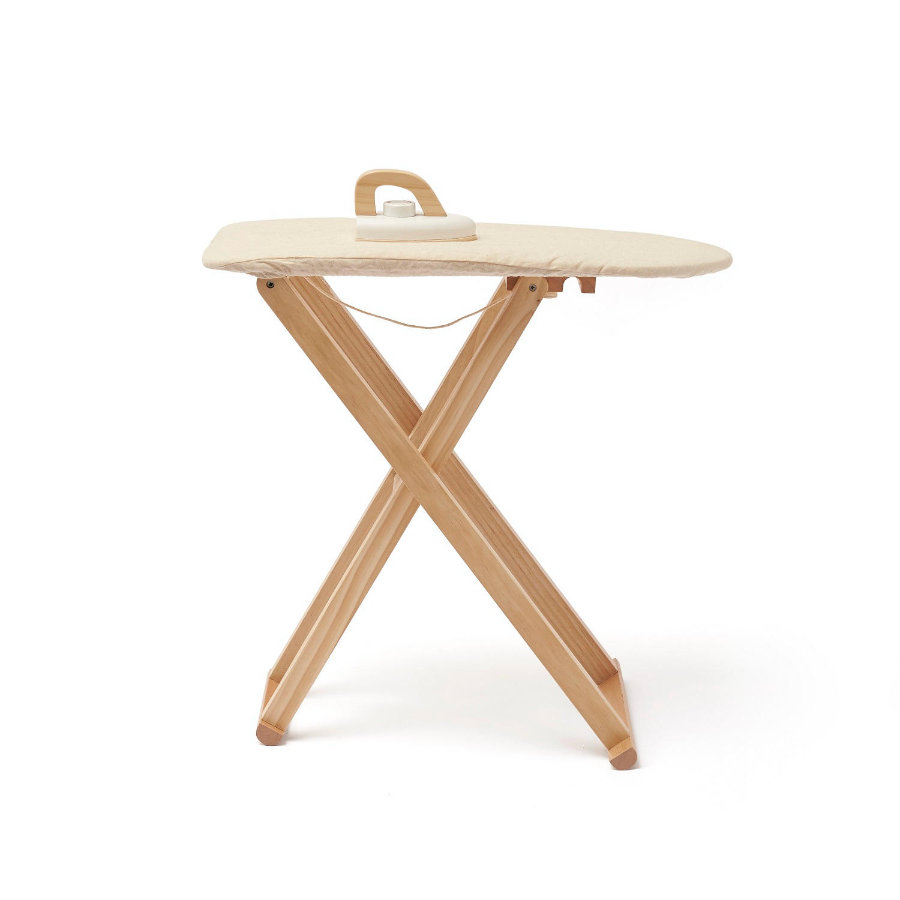 Kids Concept® Planche à repasser enfant et fer Bistro bois 1000557