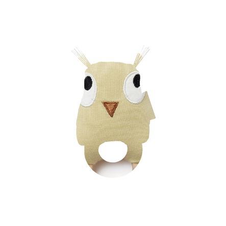 Kids Concept ® Rammelaar uil Edvin, groen