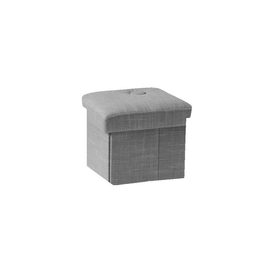 Kids Concept® Fauteuil enfant coffre pour jouets gris 1000577