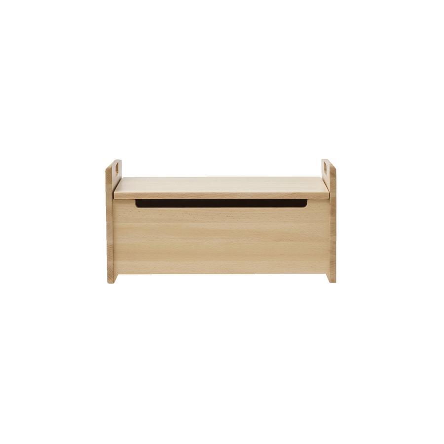 Kids Concept® Sitztruhe Saga natur - Buchenholz