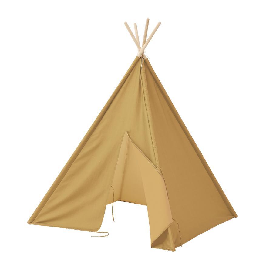 Kids Concept® Tipi telt 160 cm høyt gult
