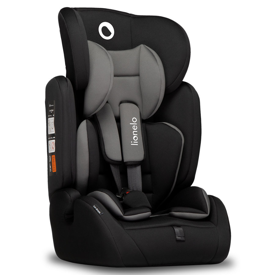 lionelo Kindersitz Levi Simple Black