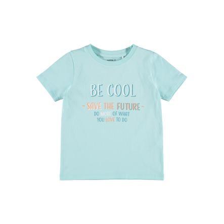 name it T-shirt Nmmfinn Blauw Tint