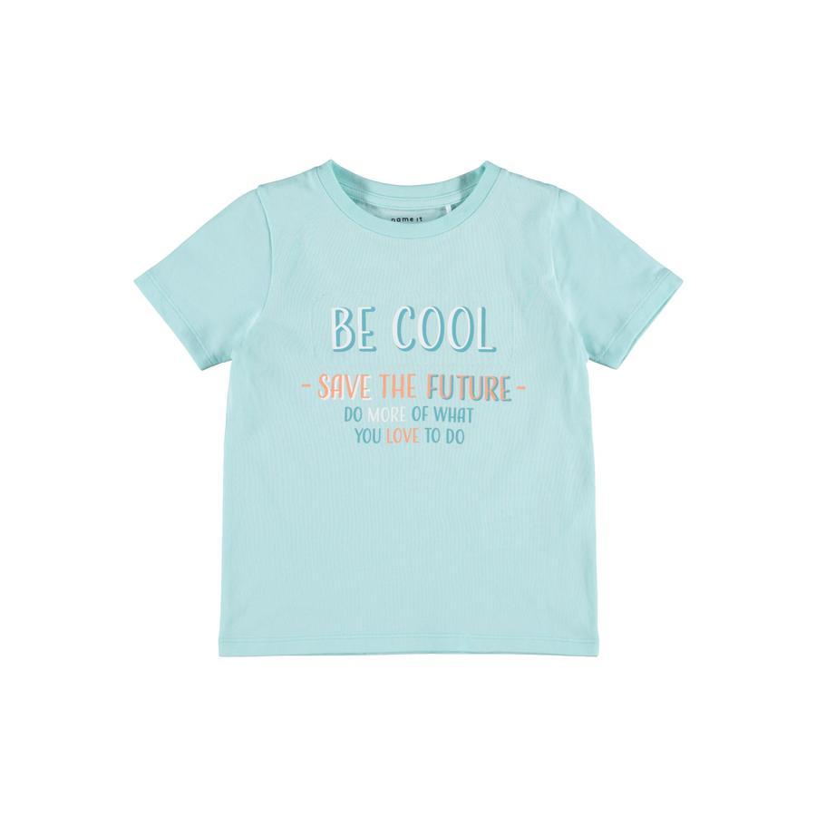 name it T-Shirt Nmmfinn Blue Tint