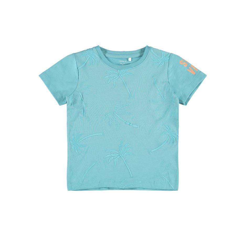 name it Camiseta Nmmfala Aqua