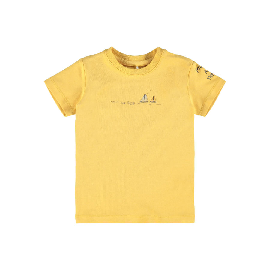 name it T-shirt Nbmfital Ochre