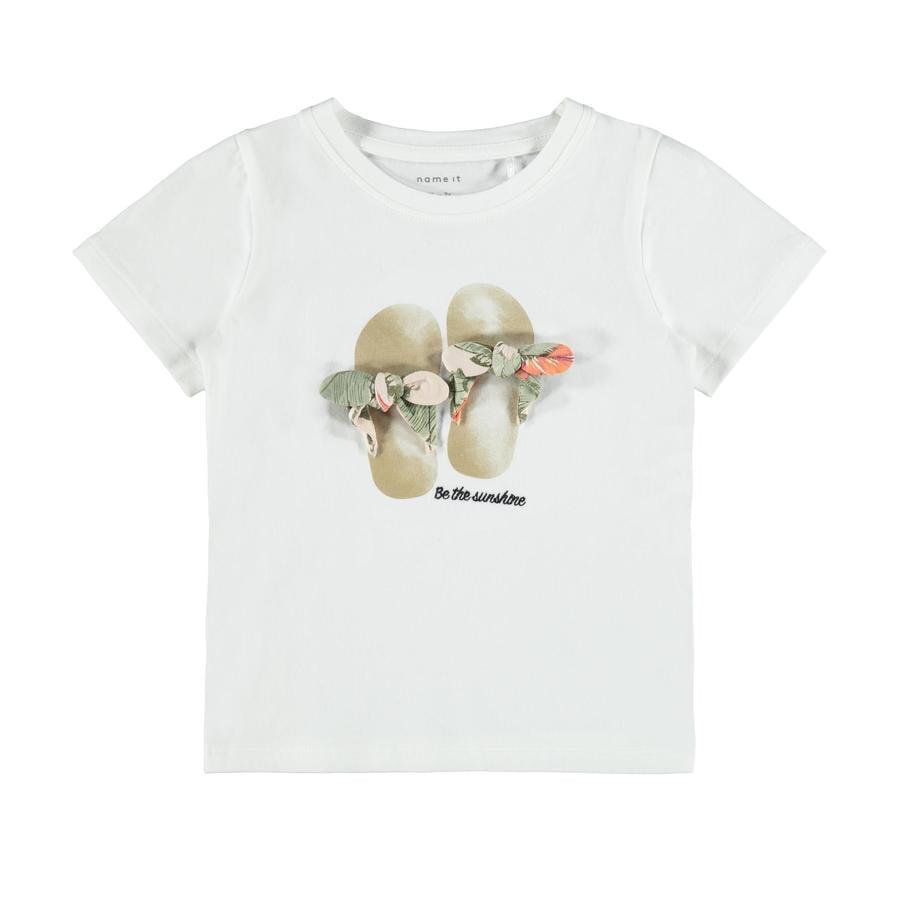 name it T-Shirt Nmffisummer Bright White