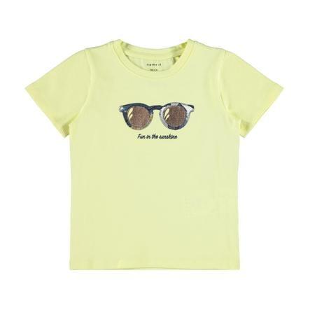 name it Camiseta Nmffi summer Yellow Pera