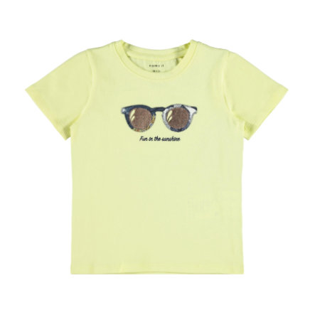 name it T-Shirt Nmffisummer Yellow Pear