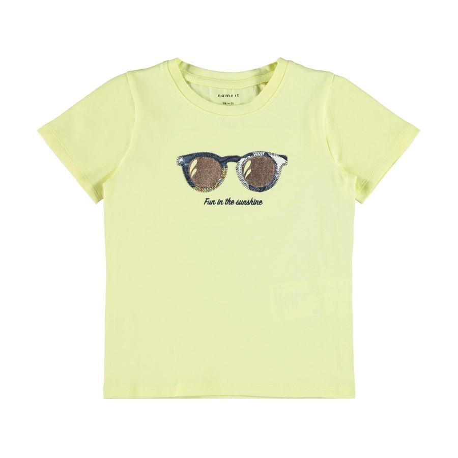 name it T-Shirt Nmffi summer Yellow Poire