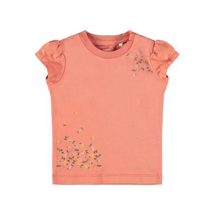 name it T-Shirt Nbffrancisca Apricot Brandy