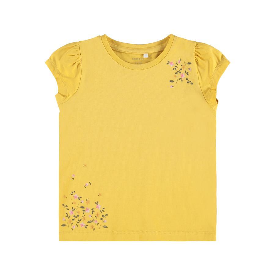 name it T-Shirt Nbffrancisca Ochre