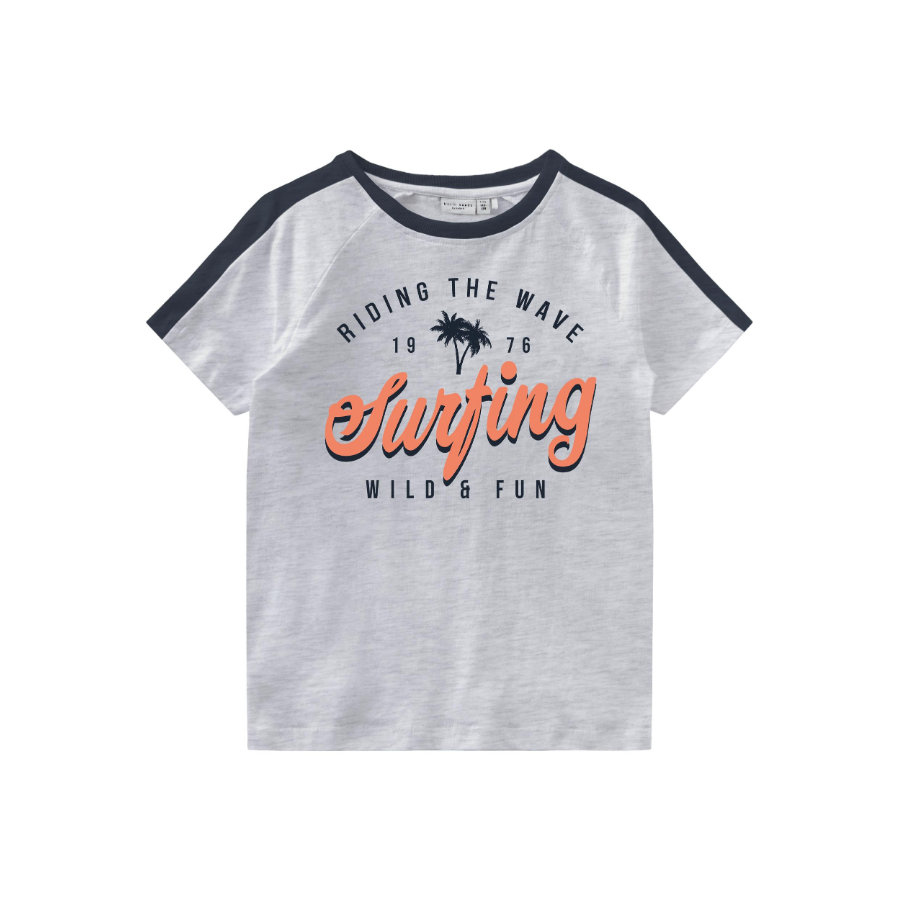 name it T-Shirt NMMVASTI Light Grey Melange