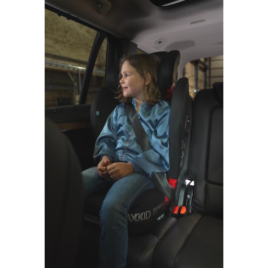 AXKID Kindersitz Bigkid 2 Premium Schwarz