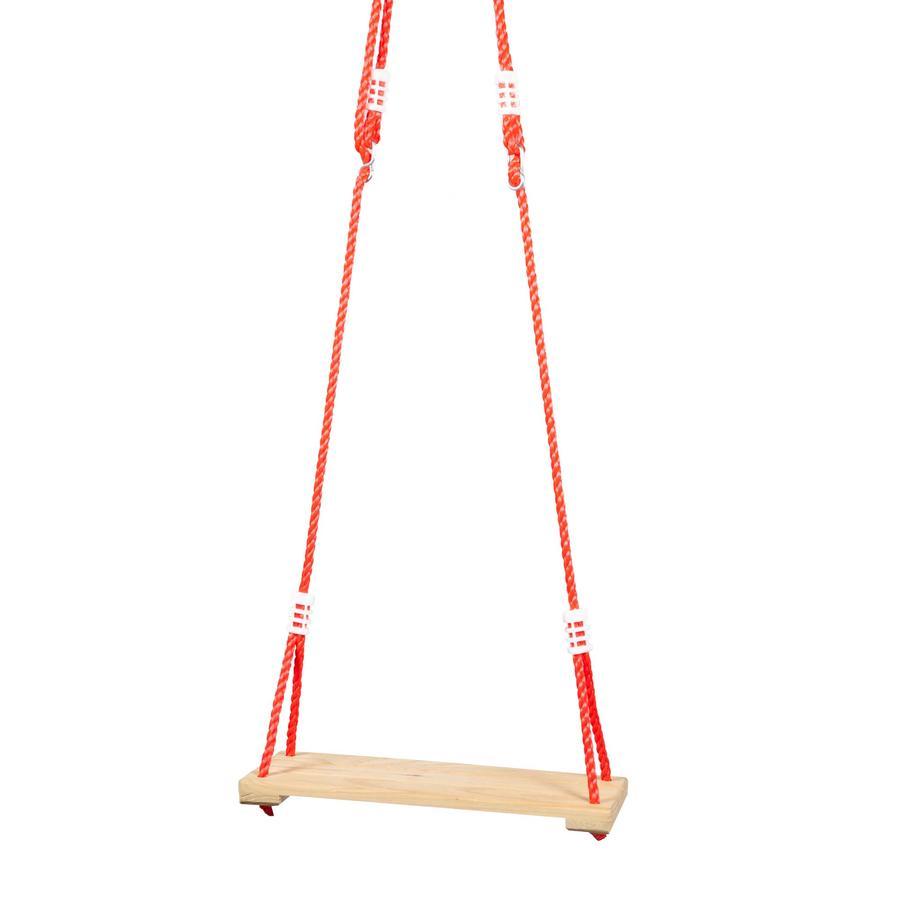 beluga Siège pour balançoire enfant à planche bois