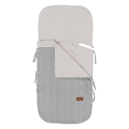 baby's only sommerfotpose for bilseter 0+ kabelgrå