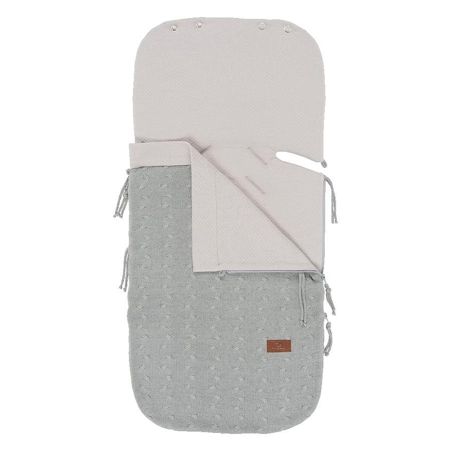 babys only kesäjalkine turvaistuimille 0+ Cable Grey