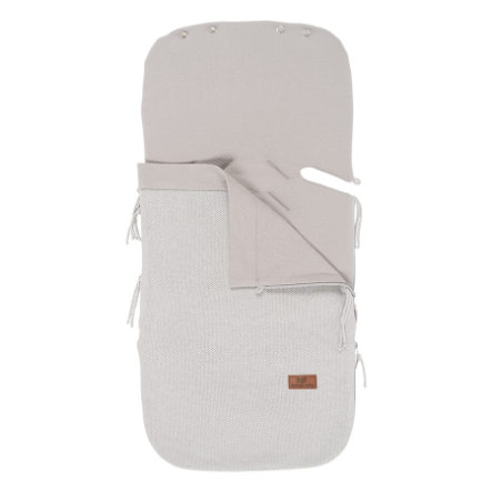 baby's only  sommer kørepose til autostole 0+ klassik sølvgrå