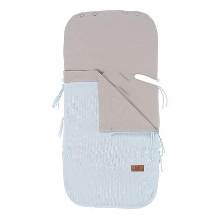 baby's only sommerfotpose for bilseter 0+ klasse ic pulverblått