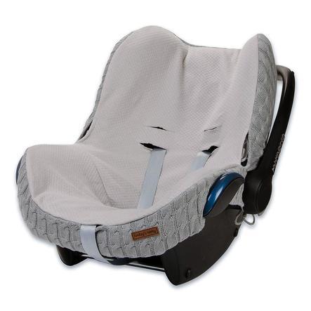 baby's only  betræk til MAXI COSI bilsæder 0+ kabelgrå