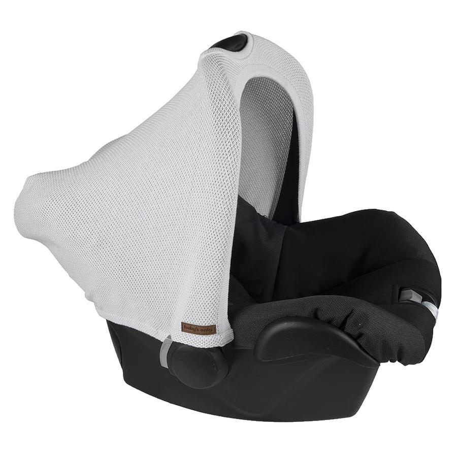 baby's only Verdeck für MAXI COSI Autositze 0+ Classic Silbergrau