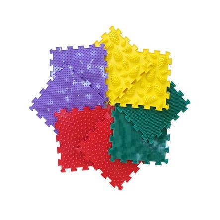 POLESIE® Tapis puzzle orthopédique Ortho-Puzzle mix universel, 8 pièces