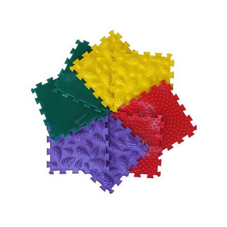 """POLESIE® Puzzlematte """"Ortho-Puzzle"""" mix Wald, 8-teilig"""