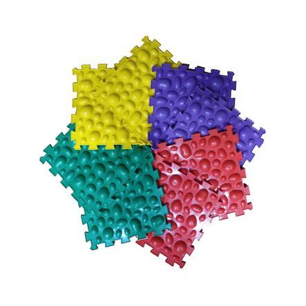 "POLESIE® Puzzlematte ""Ortho-Puzzle"" mix Meeressteine, 8-teilig"