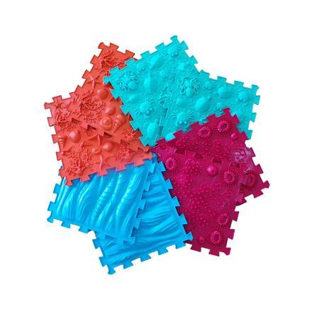 """POLESIE ® Puzzle podložka """"Ortho-Puzzle"""" mix moře, 8 dílků"""
