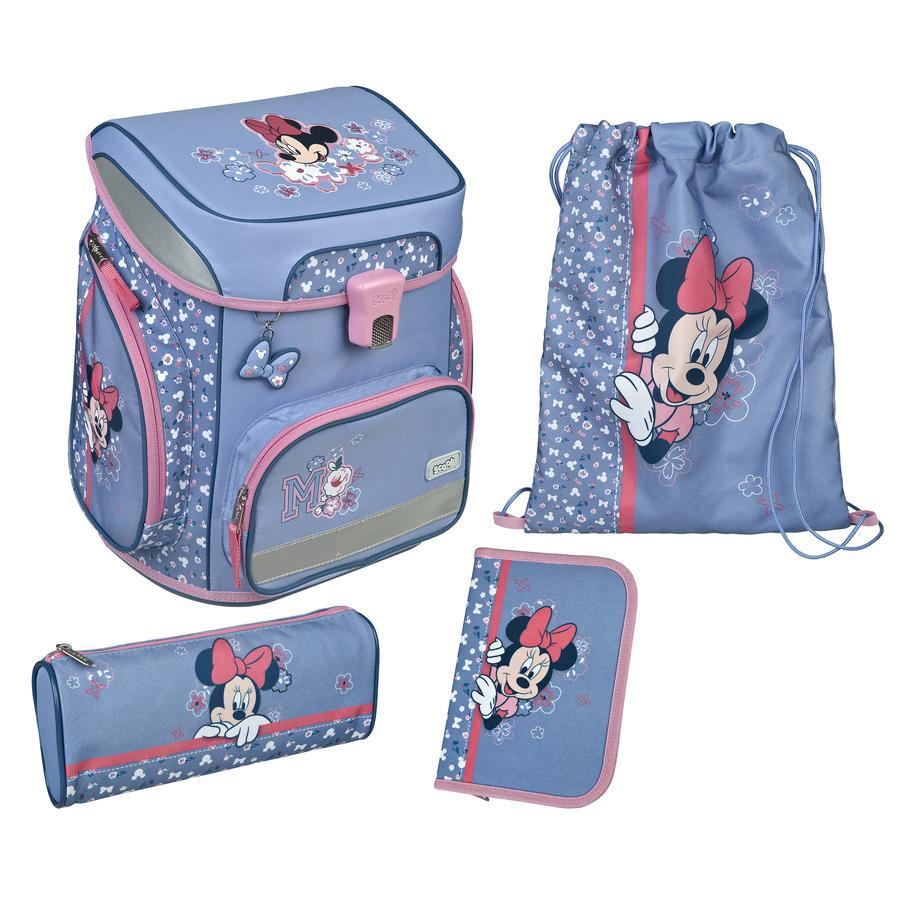 Scooli EasyFit Schulranzen-Set Minnie Mouse