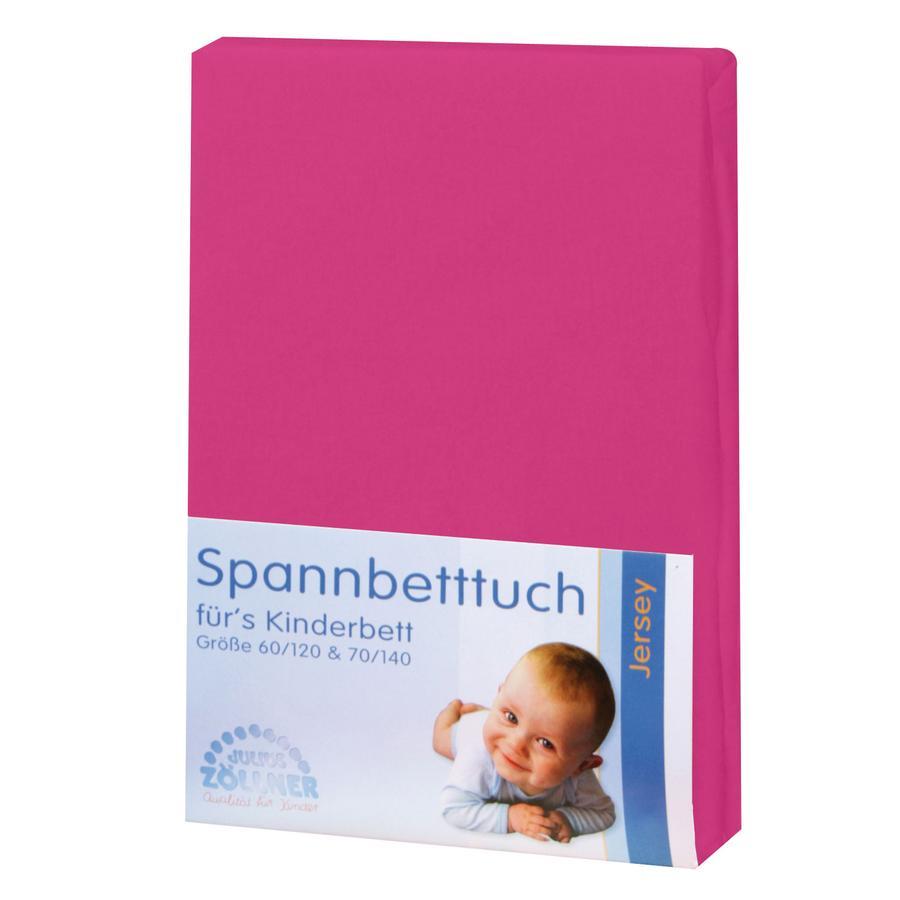 JULIUS ZÖLLNER Spannbetttuch Jersey pink