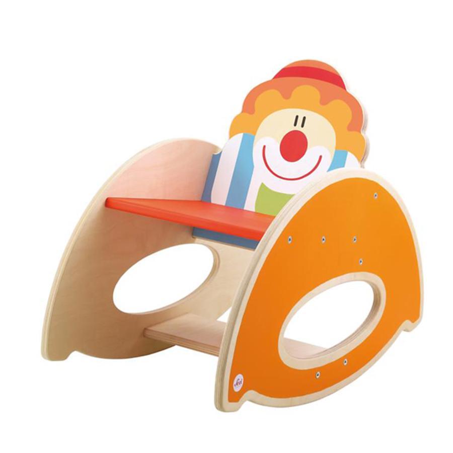 SEVI Drevená houpací židle  - cirkus
