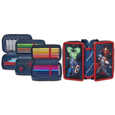 Scooli Triple Decker Avengers, gefülltes Schüleretui