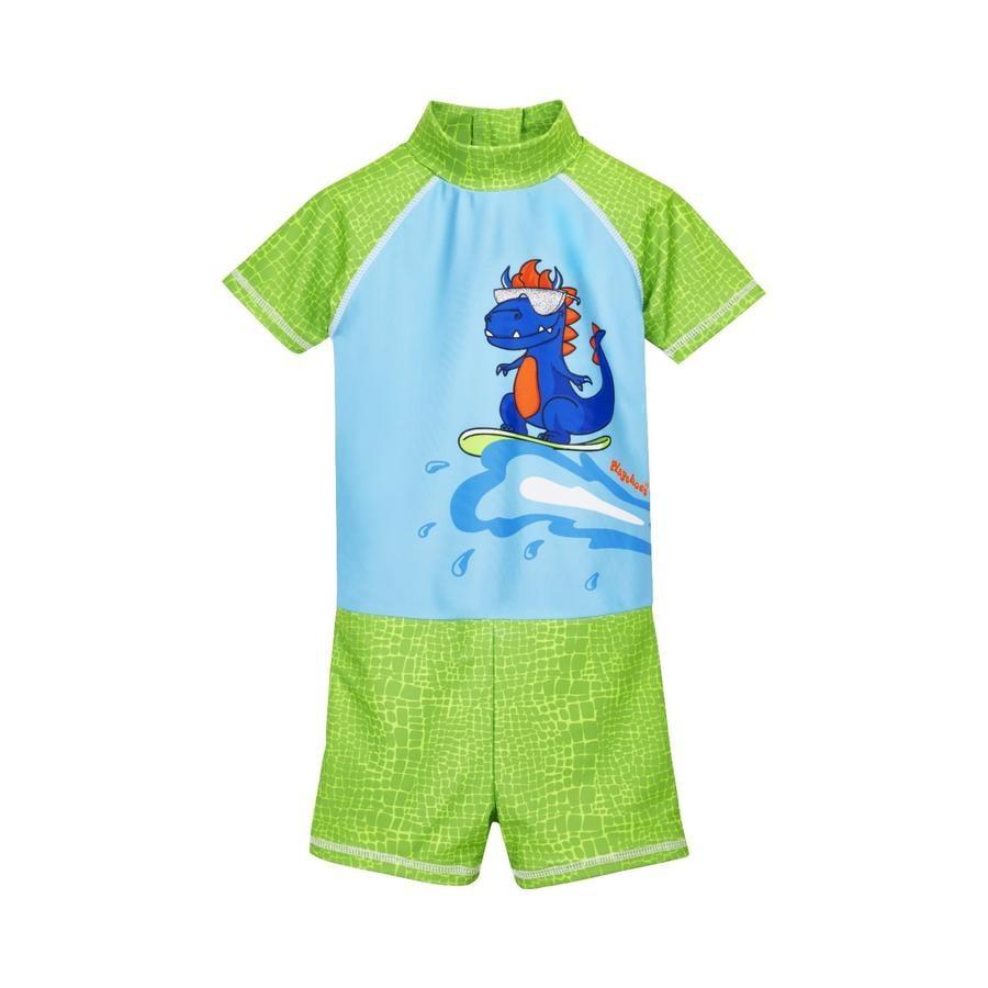 Playshoes UV-Schutz Einteiler Dino blau-grün