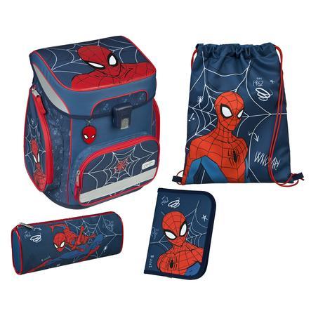 Scooli EasyFit Schulranzen-Set Spider-Man