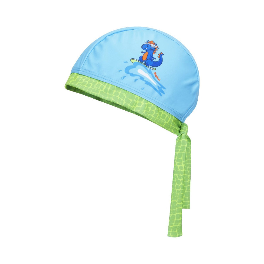 Playshoes  Bandana di protezione UV Dino blu-verde