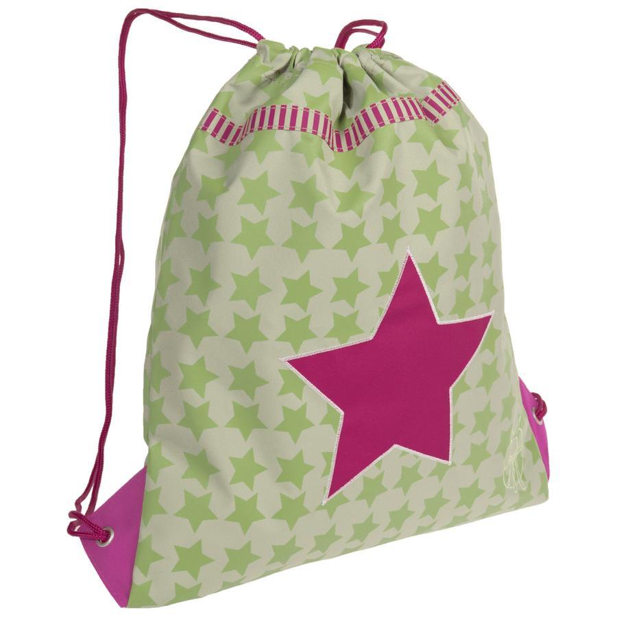 LÄSSIG Turnbeutelmini String Bag Starlight Magenta
