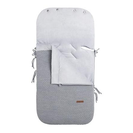 baby's only  kørepose til autostole 0 + Smaggrå