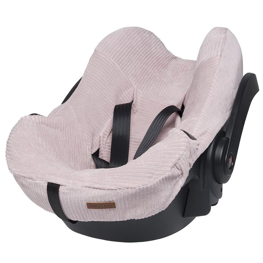 baby's only Pokrowiec na fotelik samochodowy Sense Old Pink