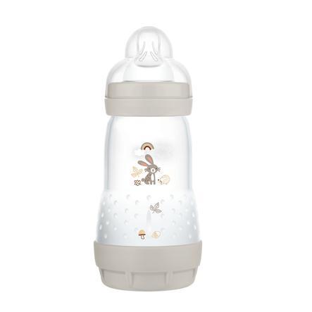MAM Babyflasche Easy Start Anti Colic-Elements 260 ml Hase in grau