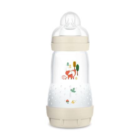 MAM Babyflasche Easy Start Anti Colic-Elements 260 ml Fuchs in beige