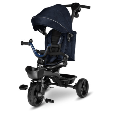 lionelo Tricycle enfant évolutif Kori Blue Navy