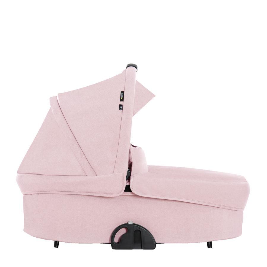 hauck Kinderwagenaufsatz Colibri Melange Rose