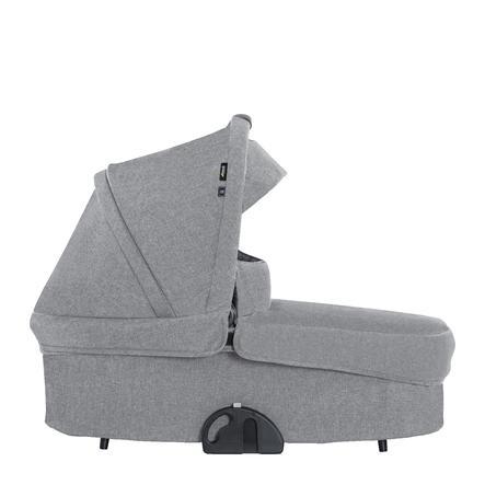 hauck Kinderwagenaufsatz Colibri Melange Grey