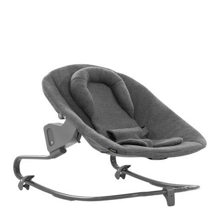 hauck Babyaufsatz Alpha Bouncer Premium Jersey Charcoal