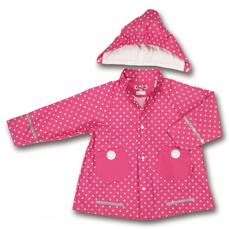 PLAYHOUSE Cappotto Parapioggia Girls a pois, colore pink