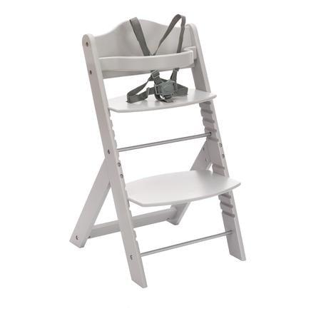 fillikid Chaise haute enfant évolutive MAX bois gris