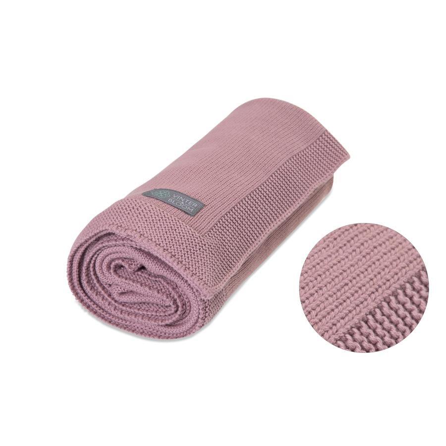 VINTER & BLOOM Teppe Love GOTS Soft Pink
