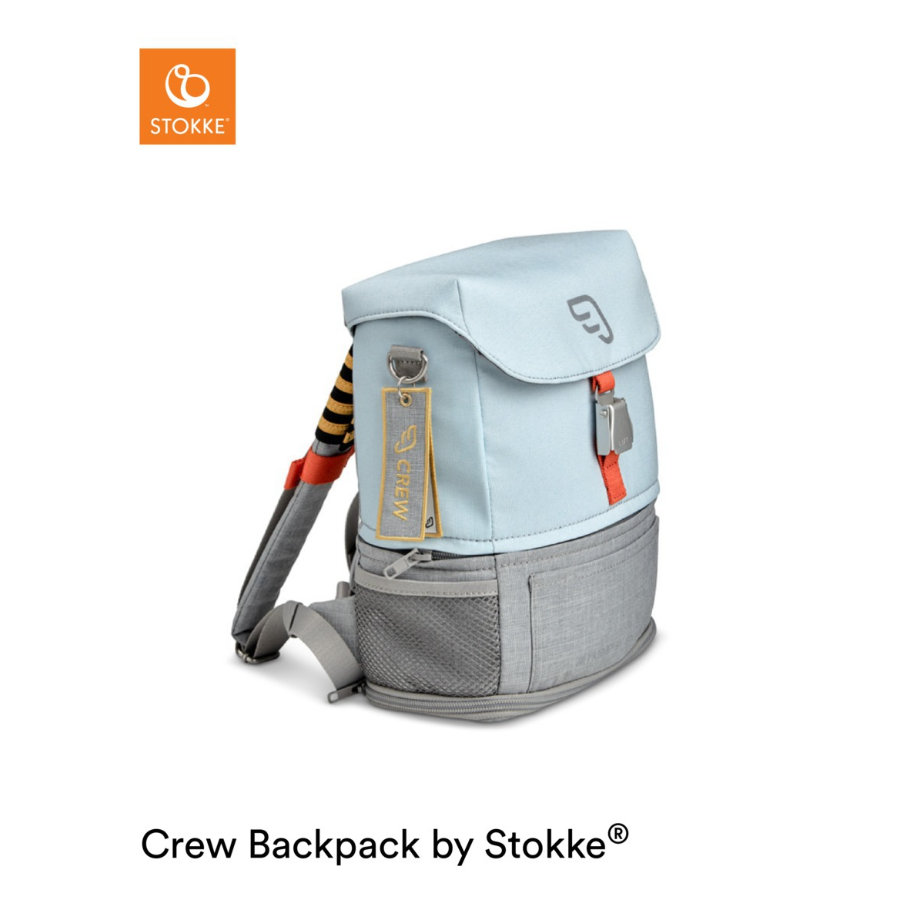 JETKIDS™ BY STOKKE® Rucksack Crew Backpack™ Blue Sky