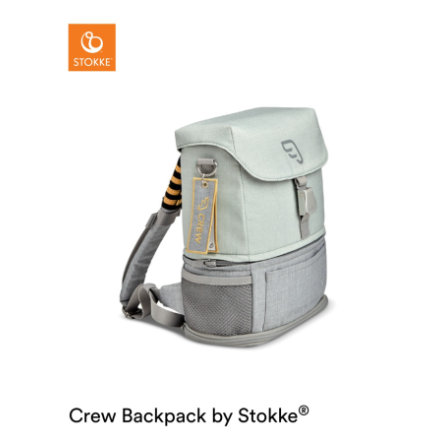 JETKIDS™ BY STOKKE® Rucksack Crew Backpack™ Green Aurora